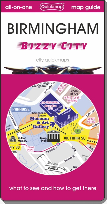 Birmingham big city Quickmap cover ISBN 9780993359804