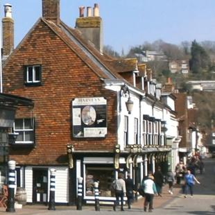 Lewes shopping street