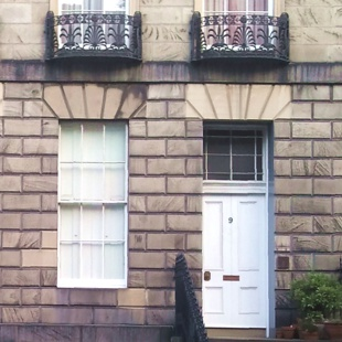 Edinburgh terrace house