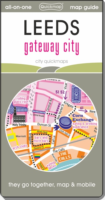 Glasgow great city Quickmap cover ISBN 9780993359859