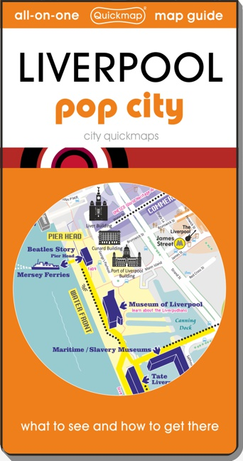 Liverpool pop city Quickmap cover ISBN 9780993161346