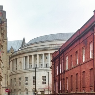 Manchester central library building picture