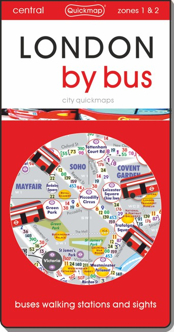 London by Bus city Quickmap cover